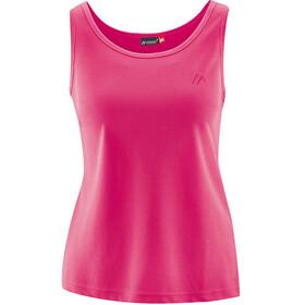 Maier Sports Petra Naiset Hihaton paita , vaaleanpunainen